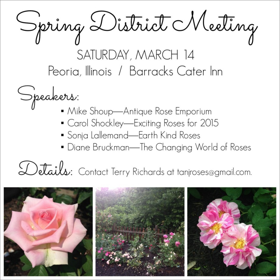 Spring District Meeting