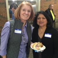 Kathleen Hutton and Eloisa Garza