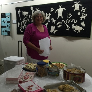 Carol Tumbas's workshop on cooking with roses and rose fragrance.
