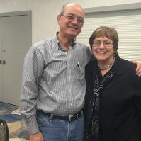 Ed Yesan and Linda Kimmel at District Meeting