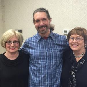 Teresa Byington, David Zlesak, Linda Kimmel at District Meeting